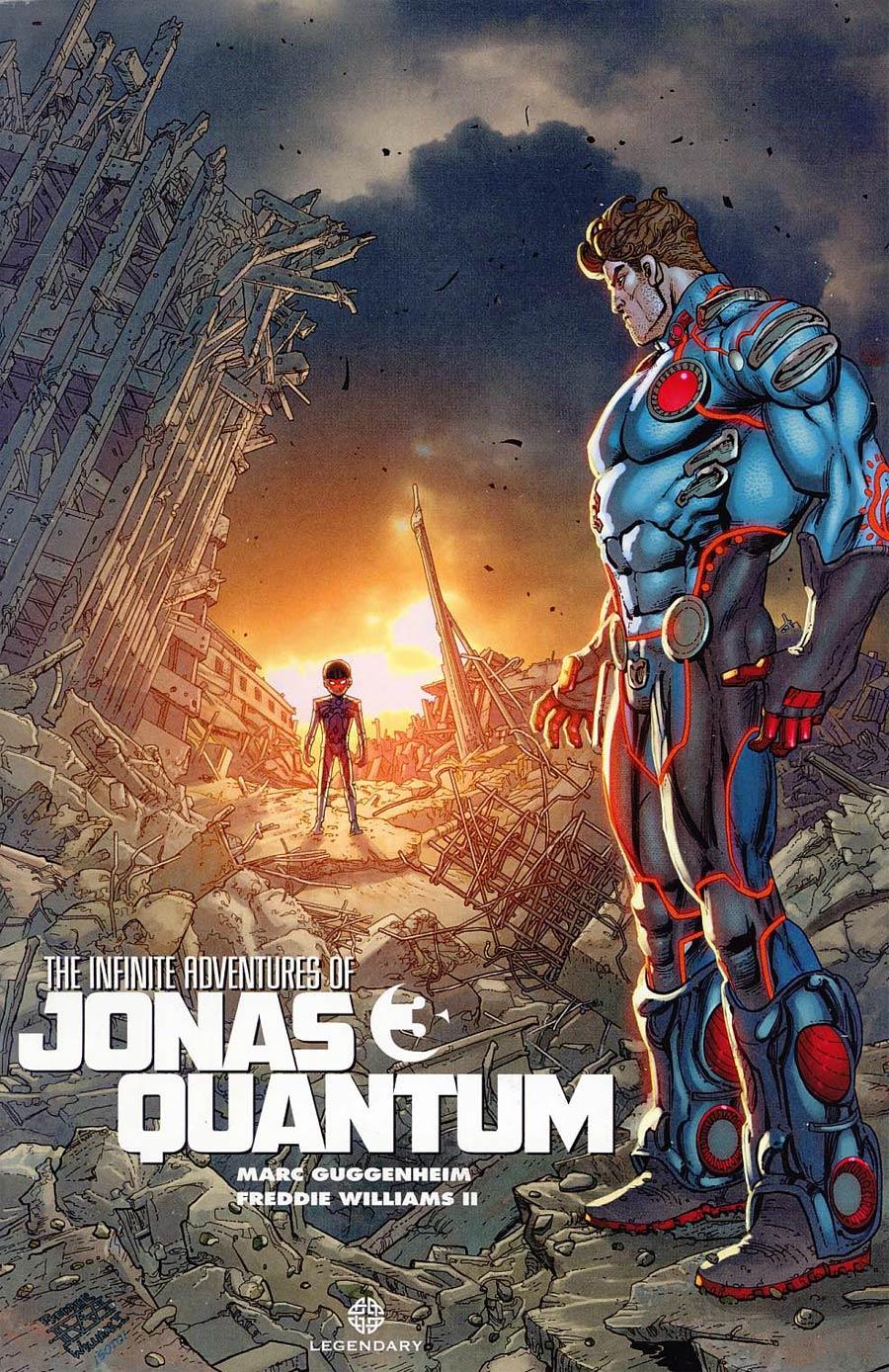 Infinite Adventures Of Jonas Quantum #3