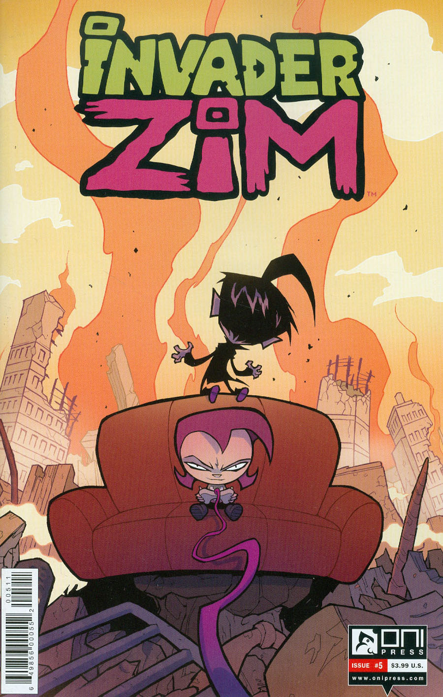 Invader Zim #5 Cover A Regular Aaron Alexovich Cover