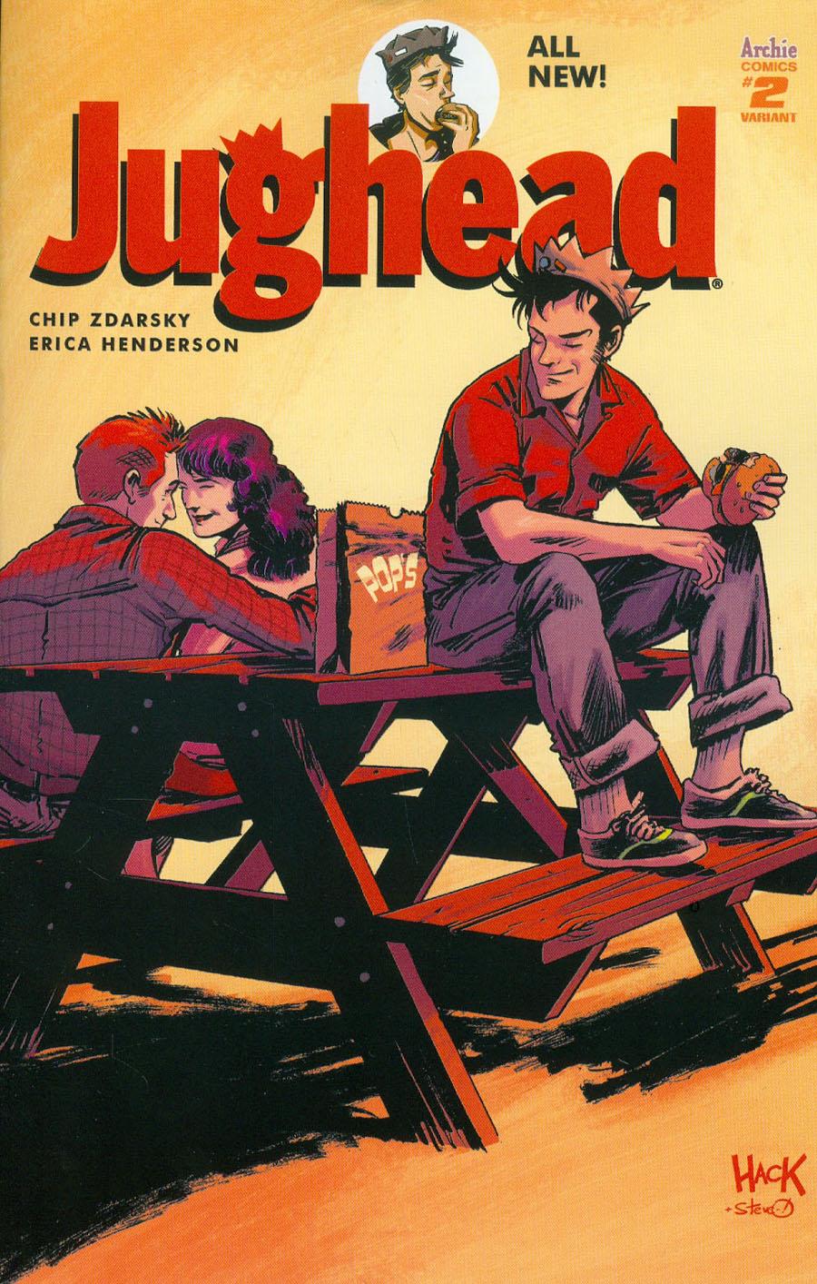 Jughead Vol 3 #2 Cover D Variant Robert Hack Cover