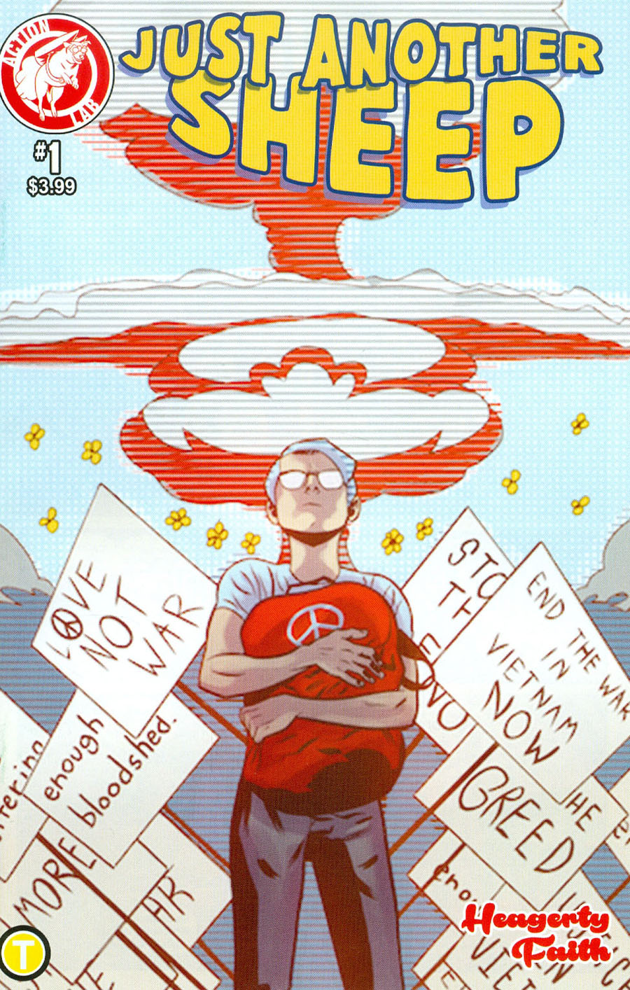 Just Another Sheep #1 Cover A Regular JD Faith Cover