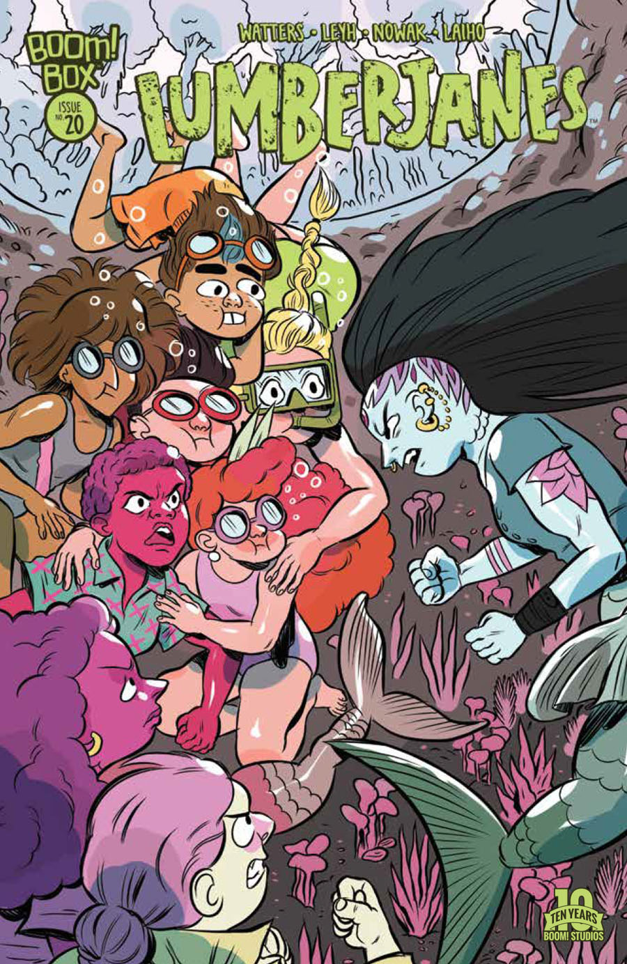 Lumberjanes #20 Cover A Regular Carolyn Nowak Cover
