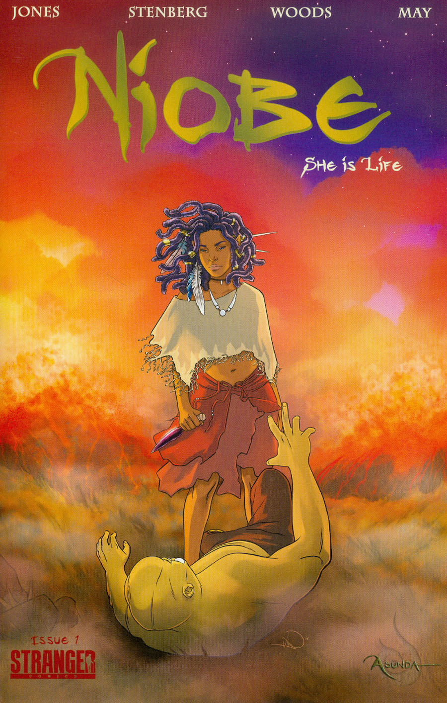 Niobe She Is Life #1 Cover A Regular Ashley A Wood Cover