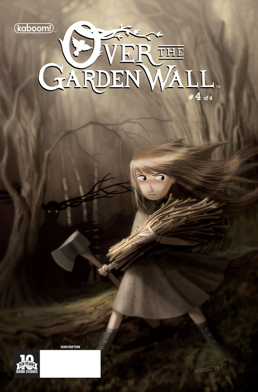 Over The Garden Wall #4 Cover B Variant Nick Cross Subscription Cover