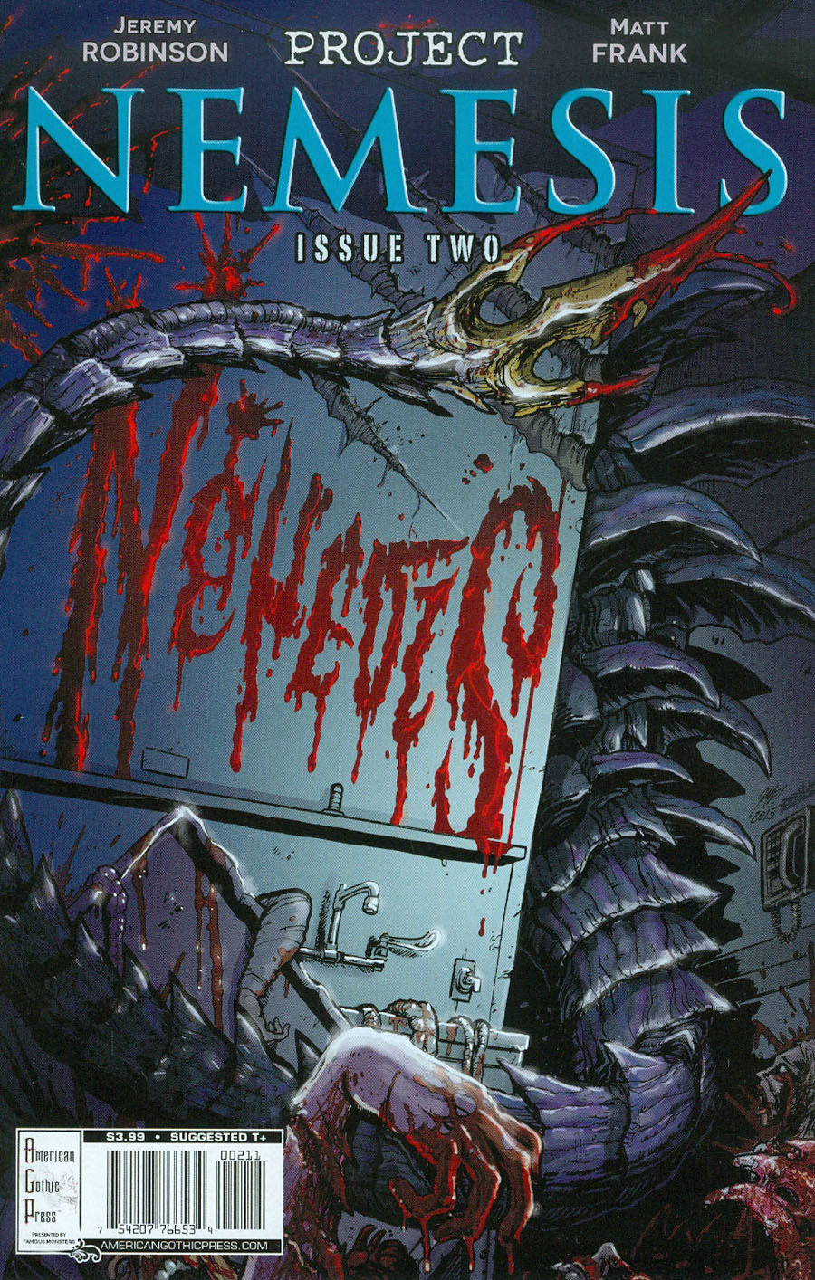 Famous Monsters Presents Project Nemesis #2 Cover A Regular Matt Frank Cover