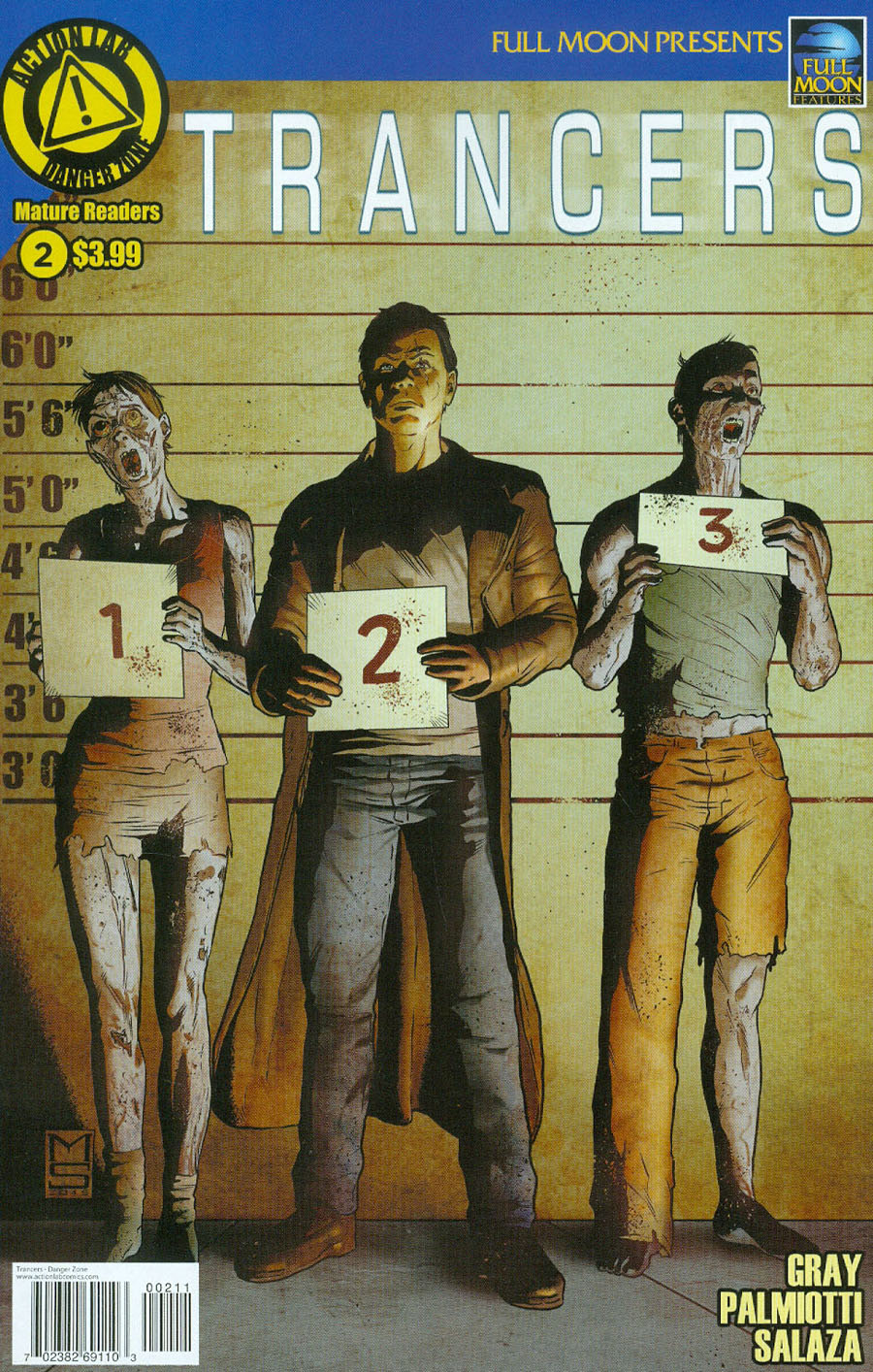 Trancers #2 Cover A Regular Marcelo Salaza Cover