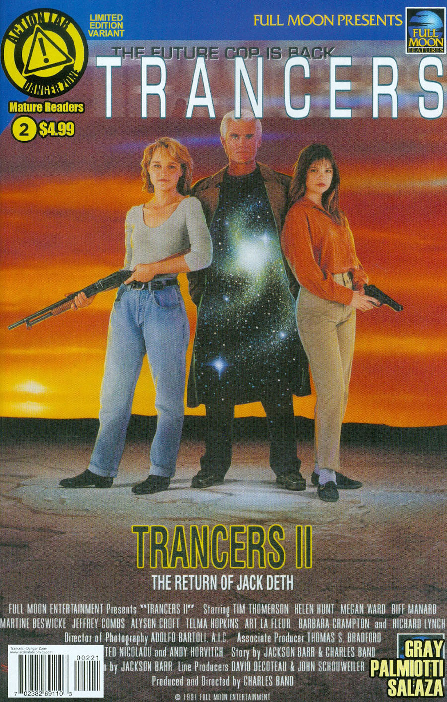 Trancers #2 Cover B Variant Movie Poster Cover