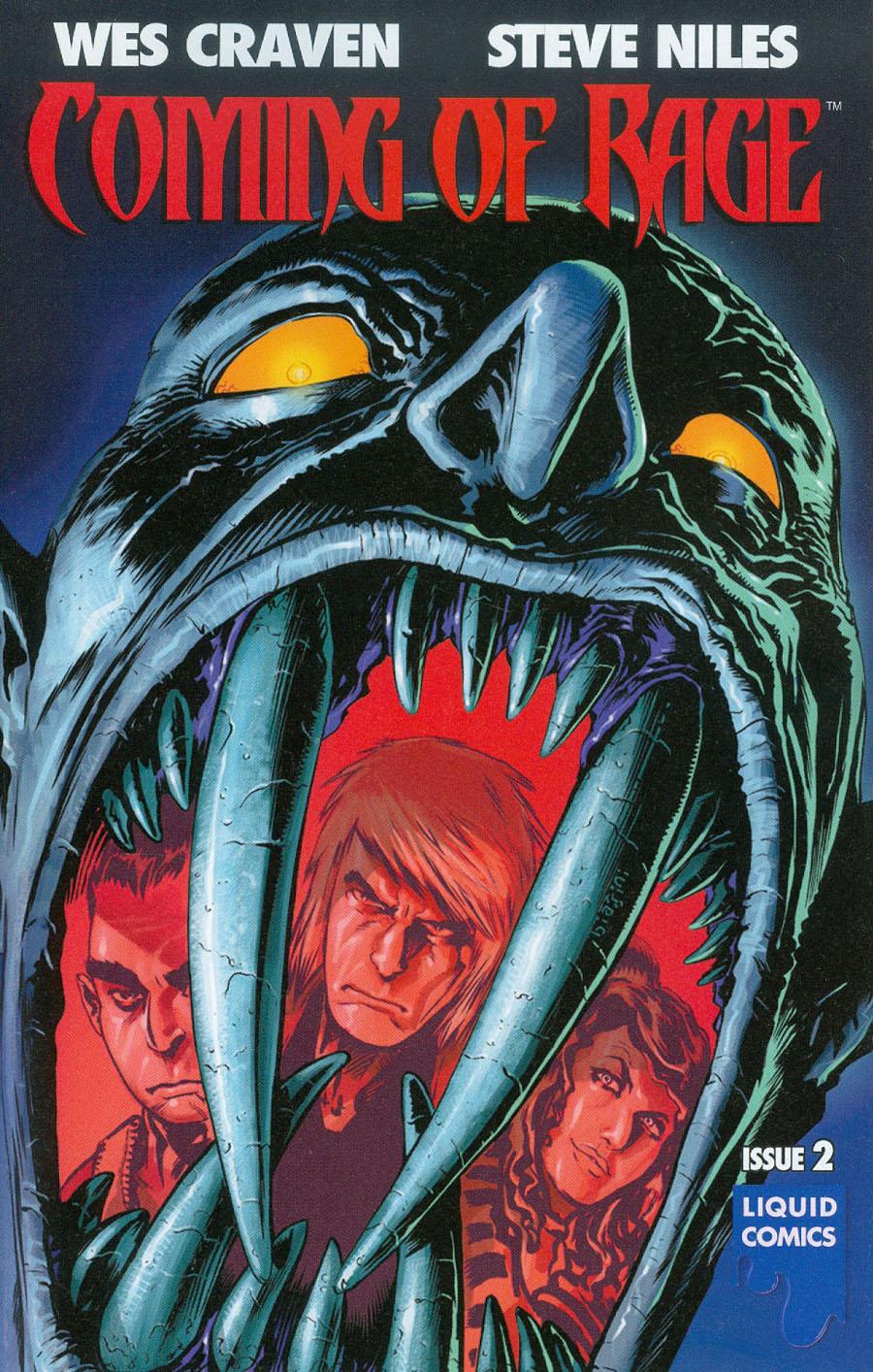 Wes Cravens Coming Of Rage #2 Cover A Regular Francesco Biagini Cover