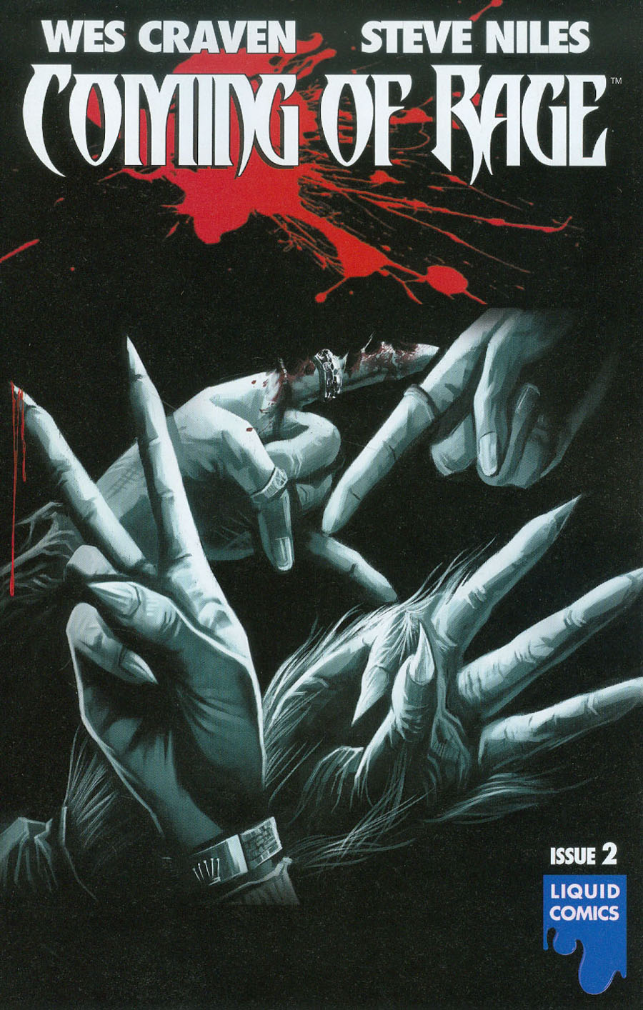 Wes Cravens Coming Of Rage #2 Cover B Variant Jeevan Kang Cover