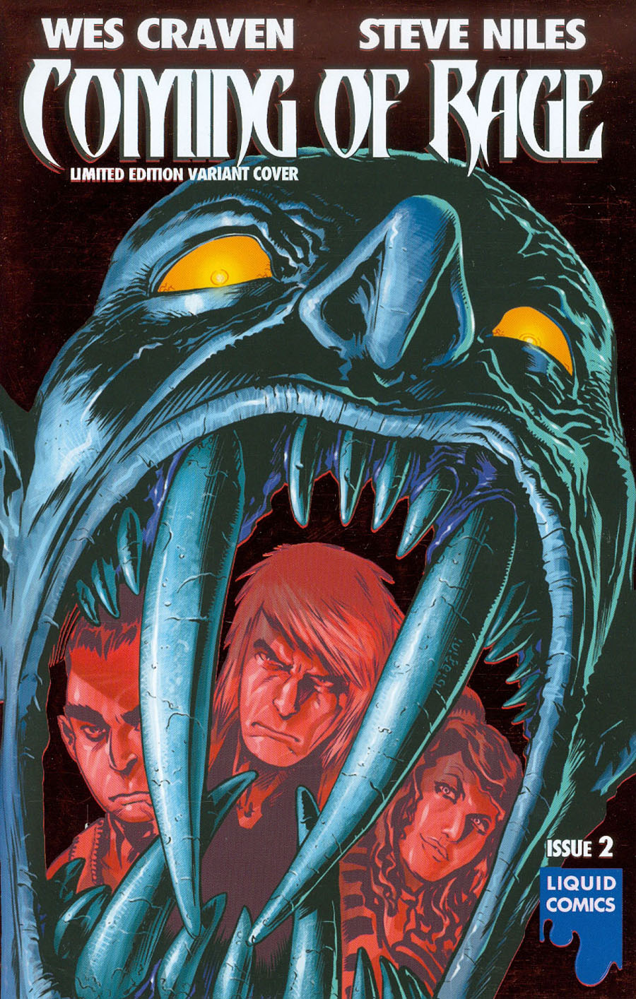 Wes Cravens Coming Of Rage #2 Cover C Ultra-Rare Bloody Sky Variant Cover