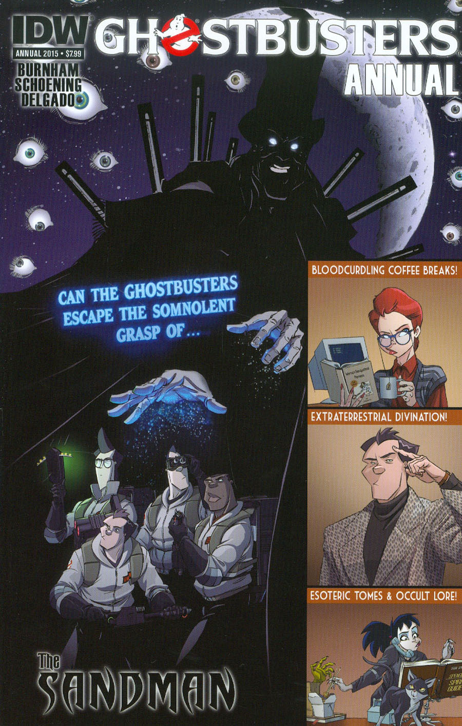 Ghostbusters Annual 2015 Cover A Regular Dan Schoening Cover