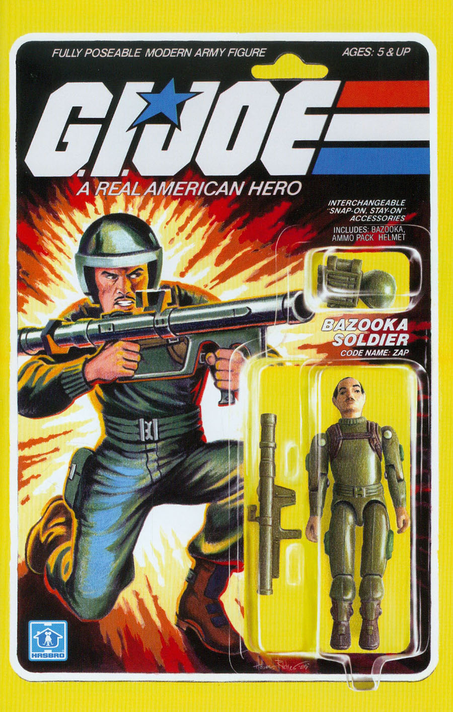 GI Joe A Real American Hero #220 Cover B Variant Adam Riches Subscription Cover