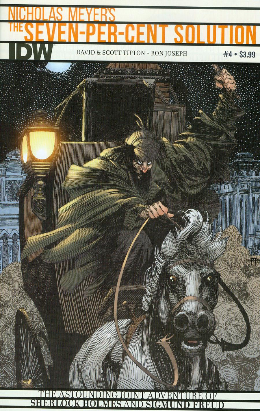 Sherlock Holmes Seven-Per-Cent Solution #4 Cover A Regular Kelley Jones Cover