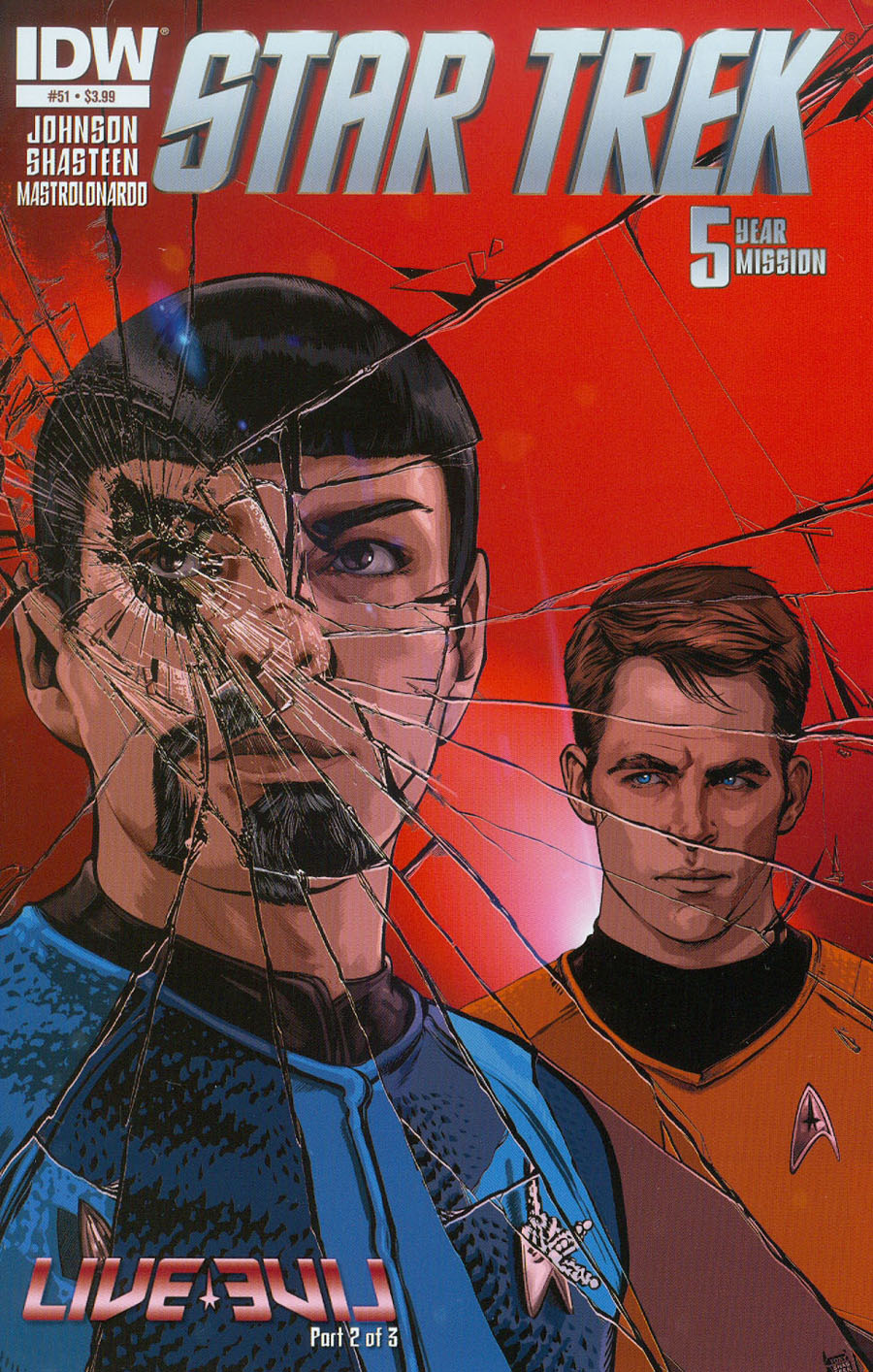 Star Trek (IDW) #51 Cover A Regular Tony Shasteen Cover