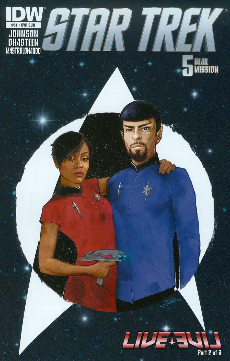 Star Trek (IDW) #51 Cover B Variant Lorelei Bunjes Subscription Cover