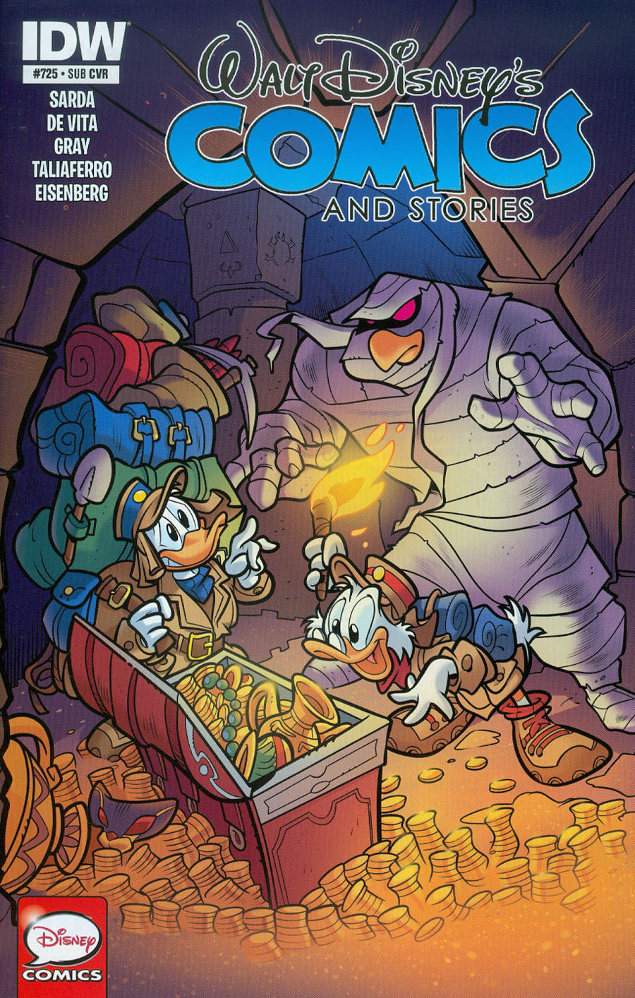 Walt Disneys Comics & Stories #725 Cover B Variant Massimo Asaro Subscription Cover