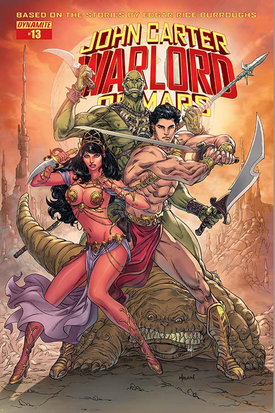 John Carter Warlord Of Mars Vol 2 #13 Cover B Variant Abhishek Malsuni Cover
