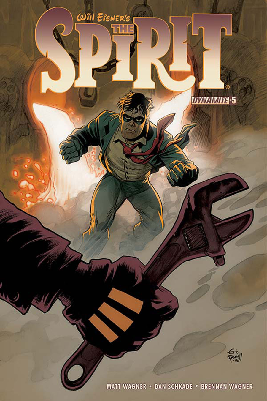 Will Eisners Spirit #5 Cover A Regular Eric Powell Cover