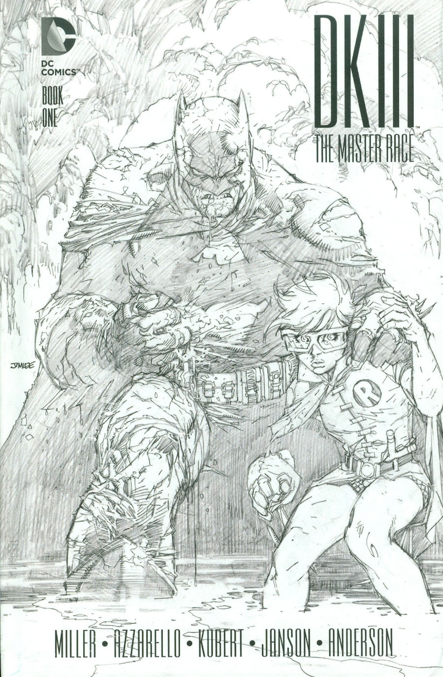 Dark Knight III The Master Race #1 Cover L Collectors Edition HC