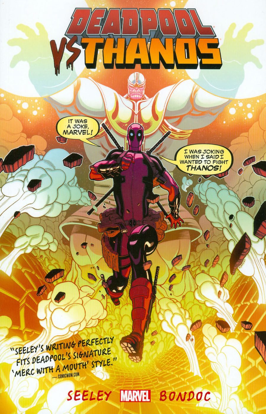 Deadpool vs Thanos TP