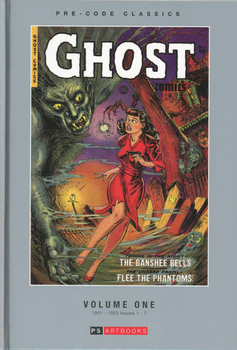 Pre-Code Classics Ghost Comics Vol 1 HC