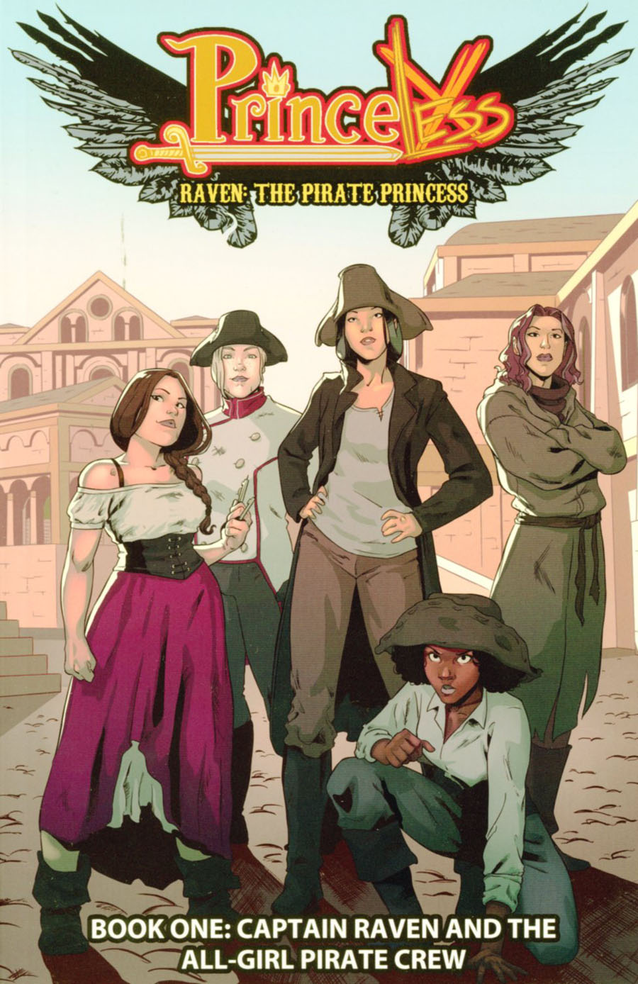 Princeless Raven The Pirate Princess Vol 1 Captain Raven And The All-Girl Pirate Crew TP