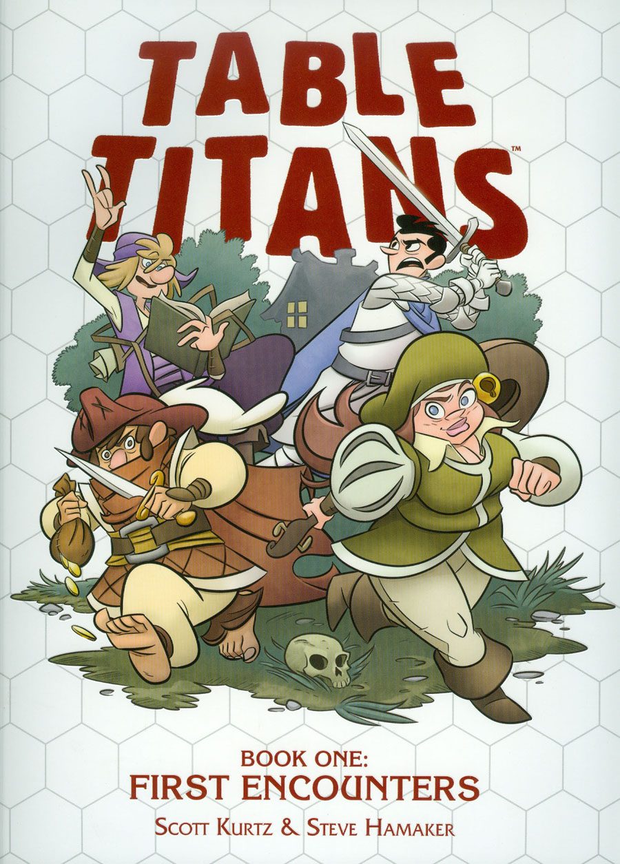 Table Titans Vol 1 First Encounters TP