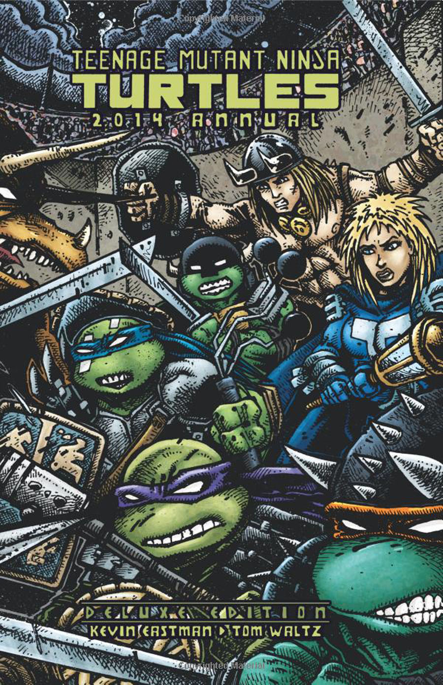 Teenage Mutant Ninja Turtles Annual 2014 Deluxe Edition HC