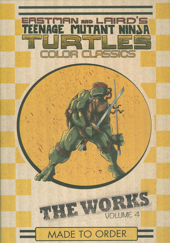 Teenage Mutant Ninja Turtles Color Classics The Works Vol 4 HC