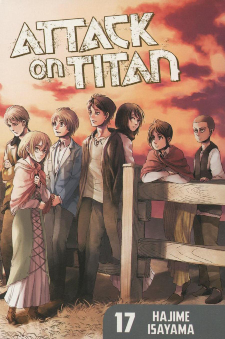 Attack On Titan Vol 17 GN Regular Edition