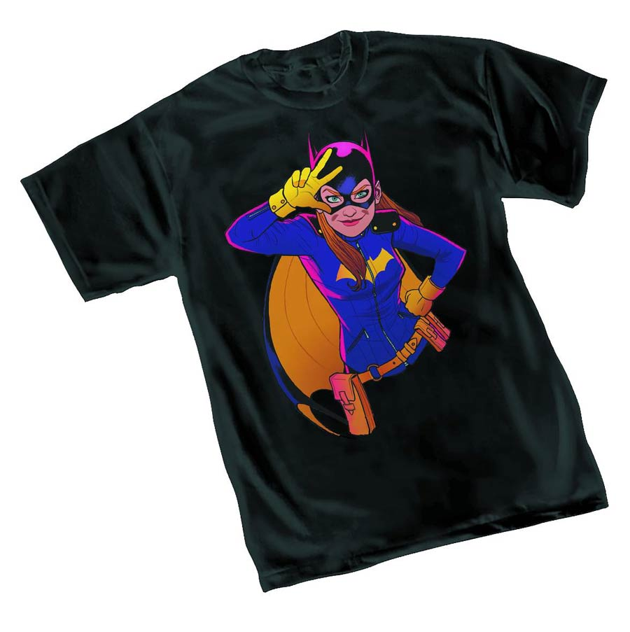 Batgirl Rave By Babs Tarr Womens T-Shirt Large