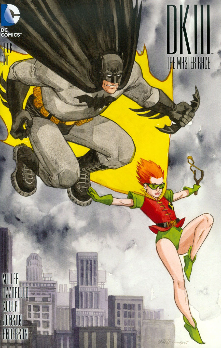 Dark Knight III The Master Race #1 Cover M Incentive Jill Thompson Variant Cover