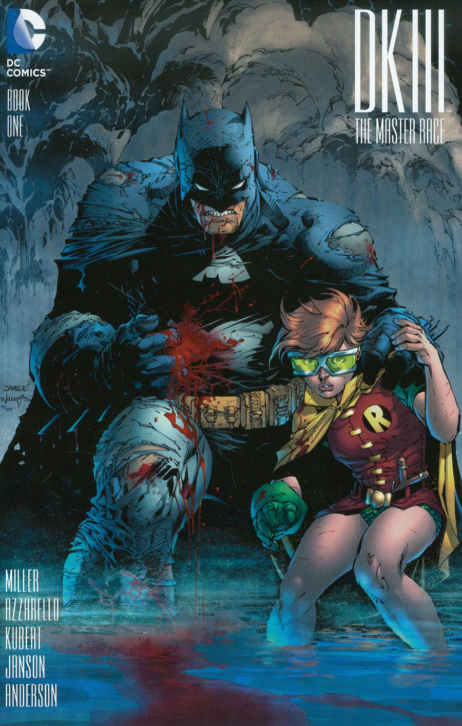 Dark Knight III The Master Race #1 Cover Q Incentive Jim Lee Variant Cover