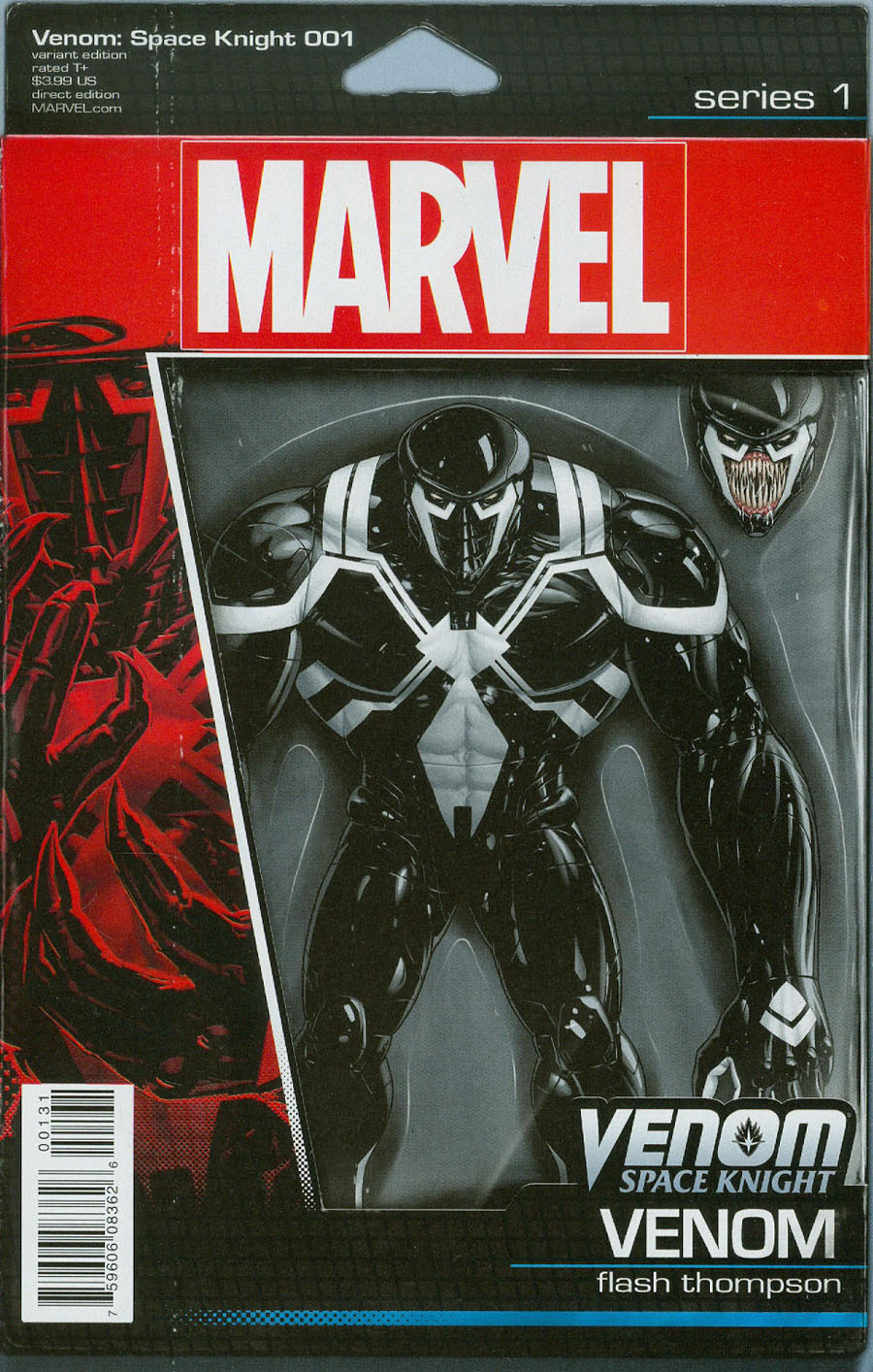 Venom Space Knight #1 Cover C Variant John Tyler Christopher Action Figure Cover