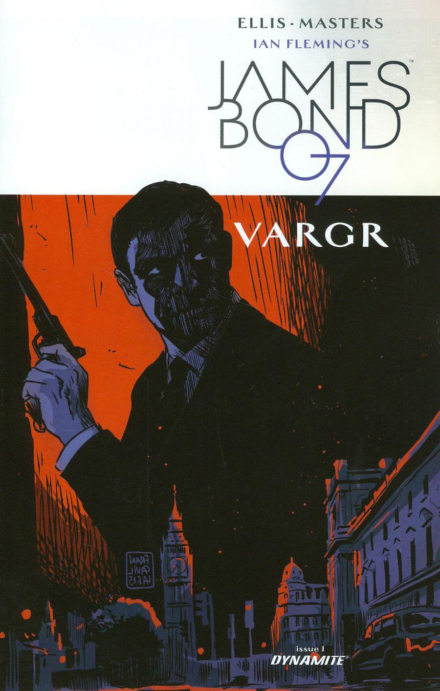 James Bond #1 Cover C Incentive Francesco Francavilla Variant Cover