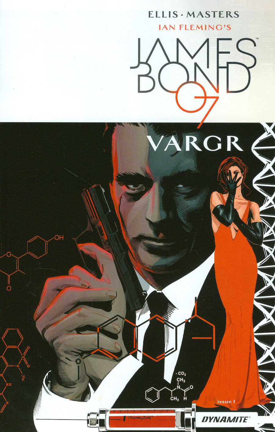 James Bond #1 Cover D Incentive Stephen Mooney Variant Cover