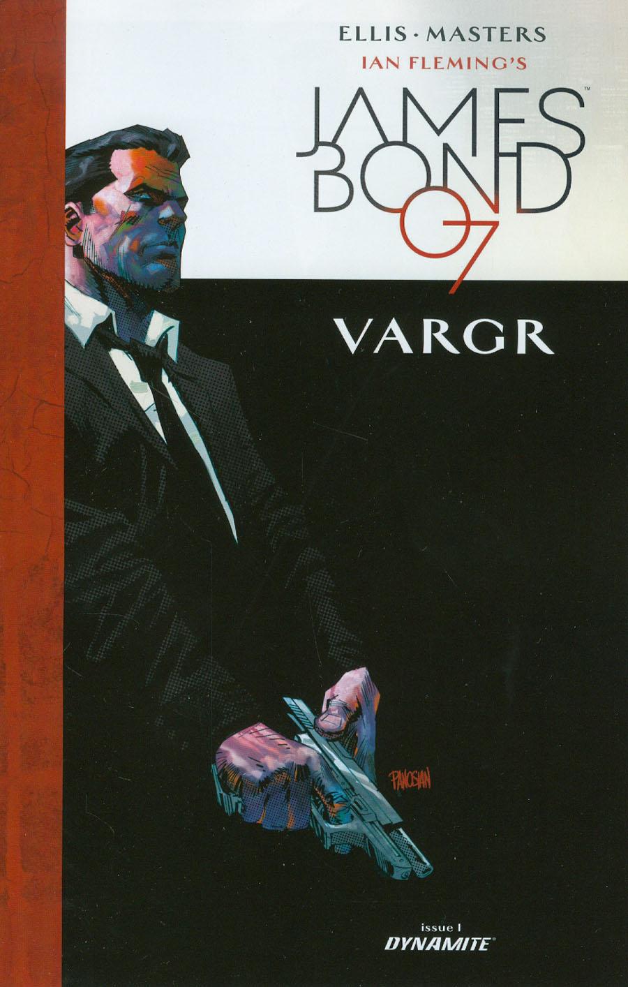 James Bond #1 Cover E Incentive Dan Panosian Variant Cover