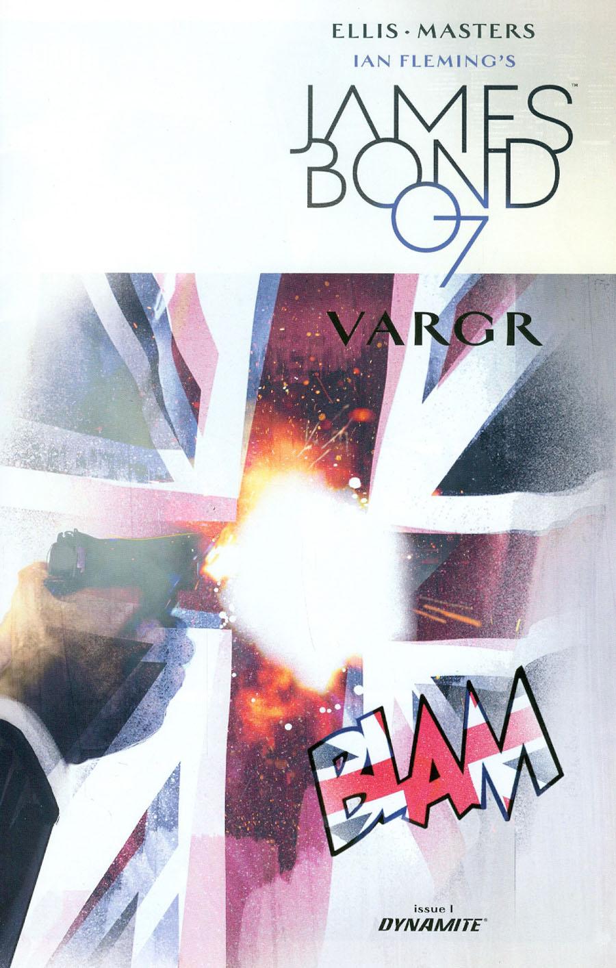 James Bond #1 Cover H Incentive Jock Variant Cover