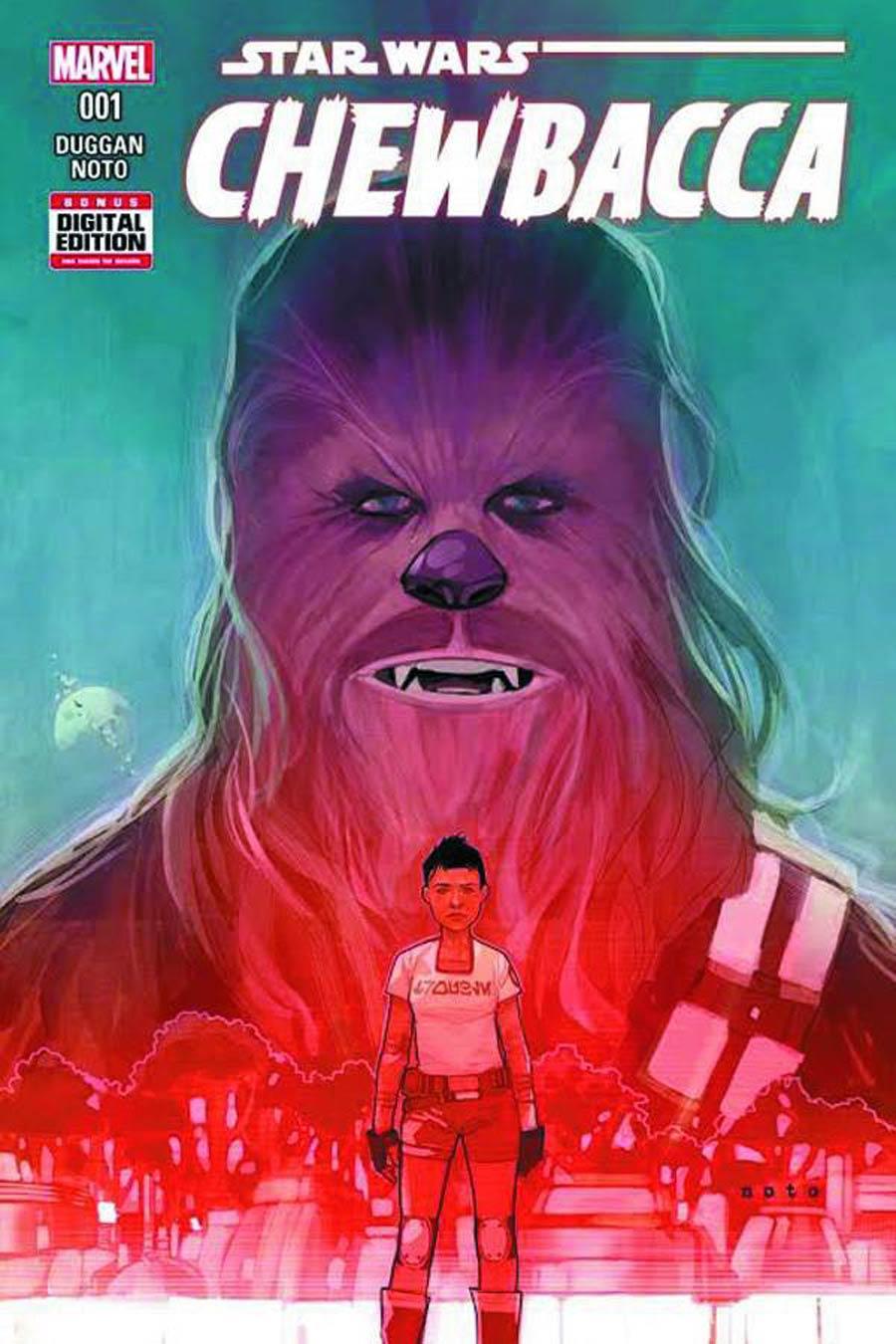 Chewbacca #1 Cover I DF CGC Graded