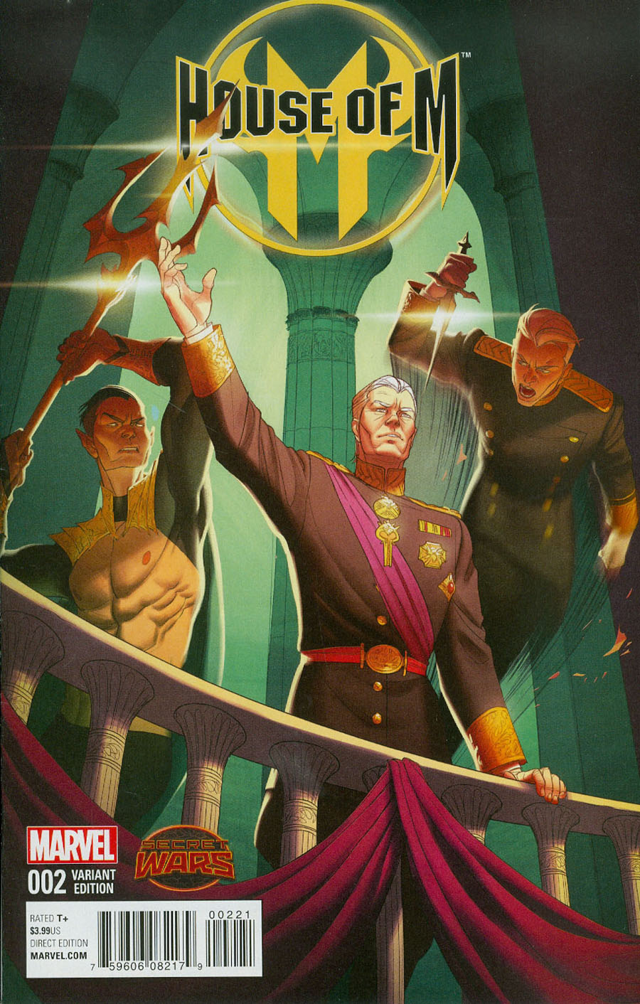 House Of M Vol 2 #2 Cover B Incentive Variant Cover (Secret Wars Warzones Tie-In)