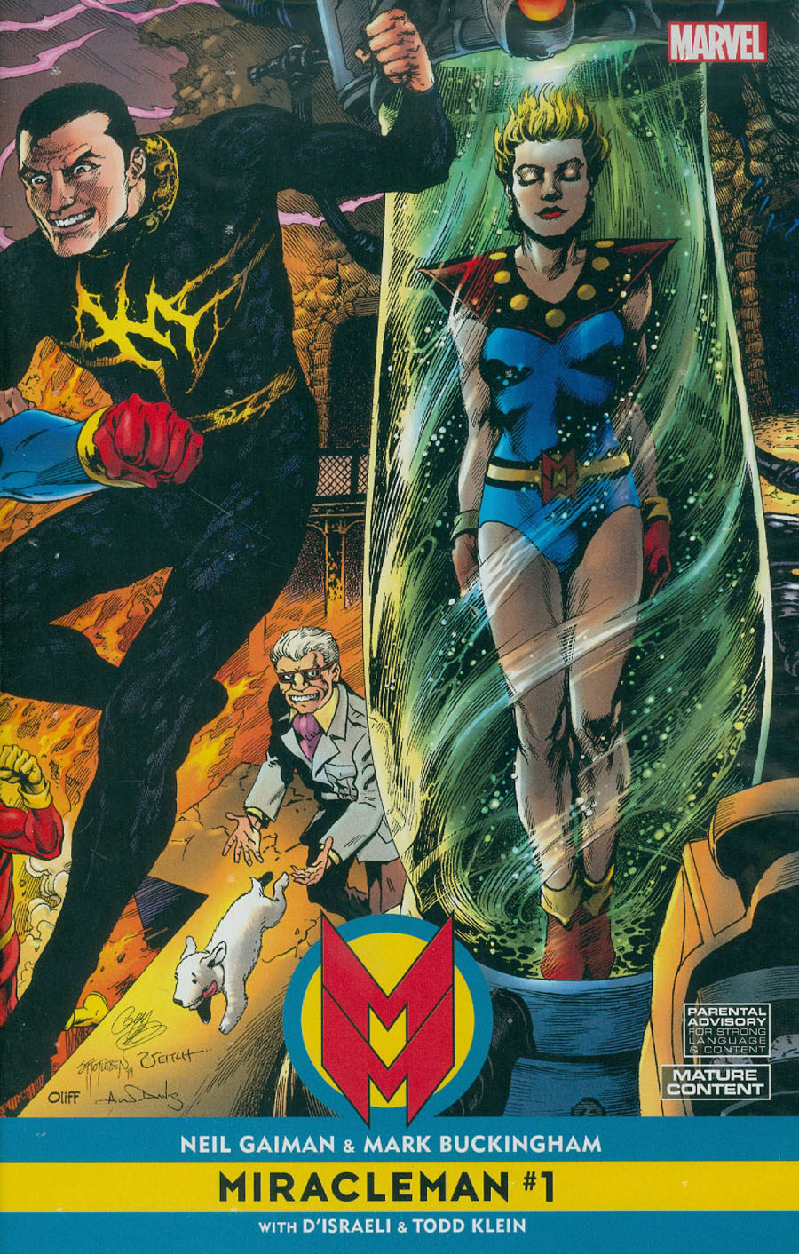 Miracleman By Gaiman & Buckingham #1 Cover C Incentive Jam Variant Cover With Polybag