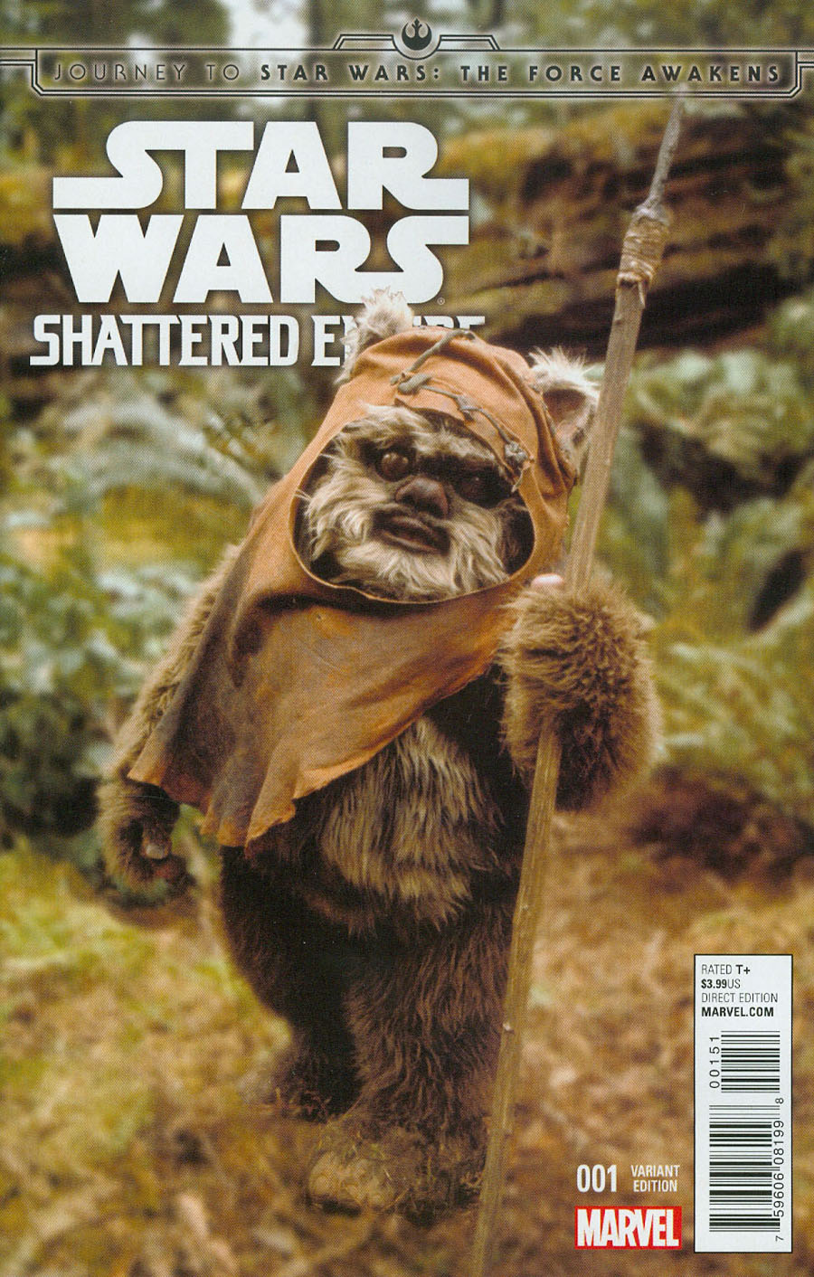 Journey To Star Wars Force Awakens Shattered Empire #1 Cover E Incentive Movie Variant Cover