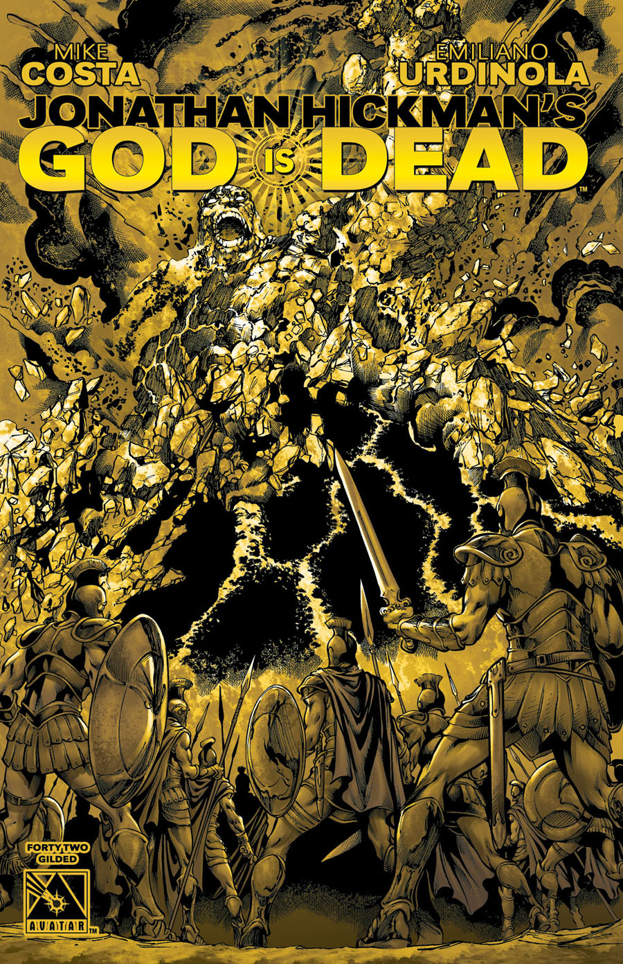 God Is Dead #42 Cover F Incentive Gilded Cover