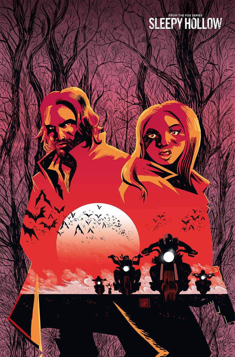 Sleepy Hollow Providence #2 Cover B Incentive Victor Santos Virgin Variant Cover