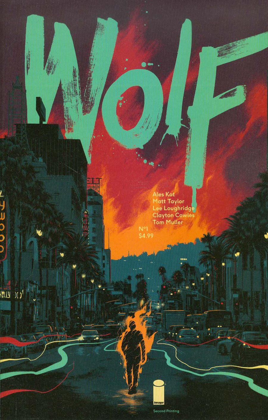 Wolf #1 Cover B 2nd Ptg Matt Taylor Variant Cover