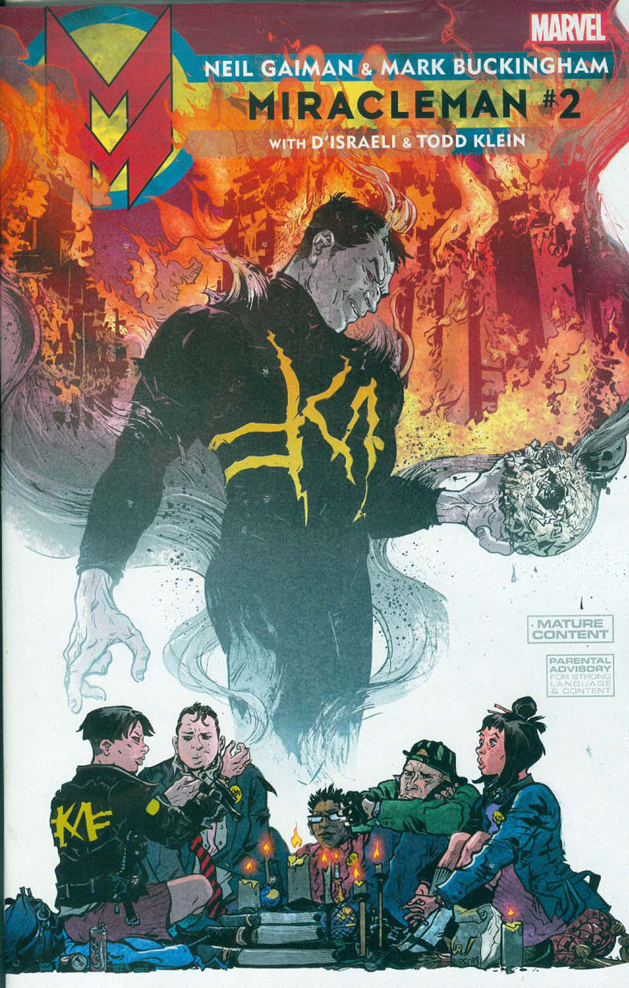 Miracleman By Gaiman & Buckingham #2 Cover B Incentive Paul Pope Variant Cover With Polybag