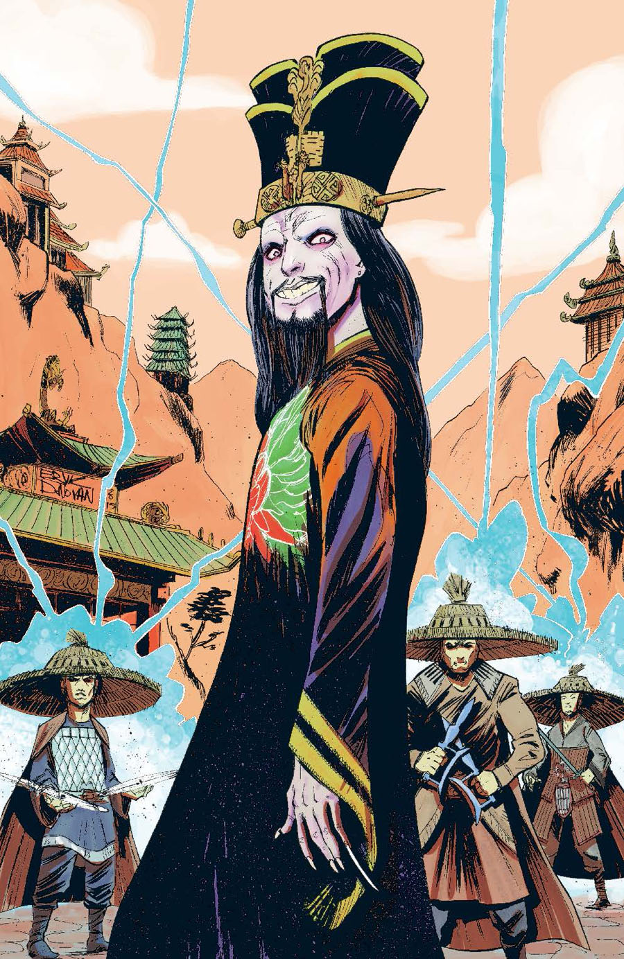Big Trouble In Little China #16 Cover B Incentive Eryk Donovon Virgin Variant Cover