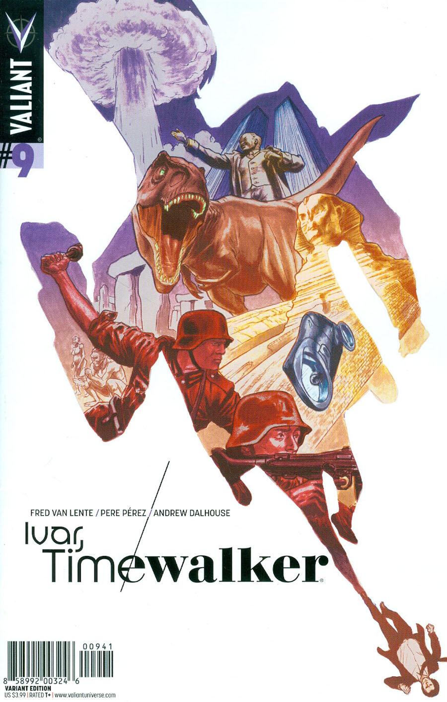 Ivar Timewalker #9 Cover D Incentive Al Barrionuevo Variant Cover