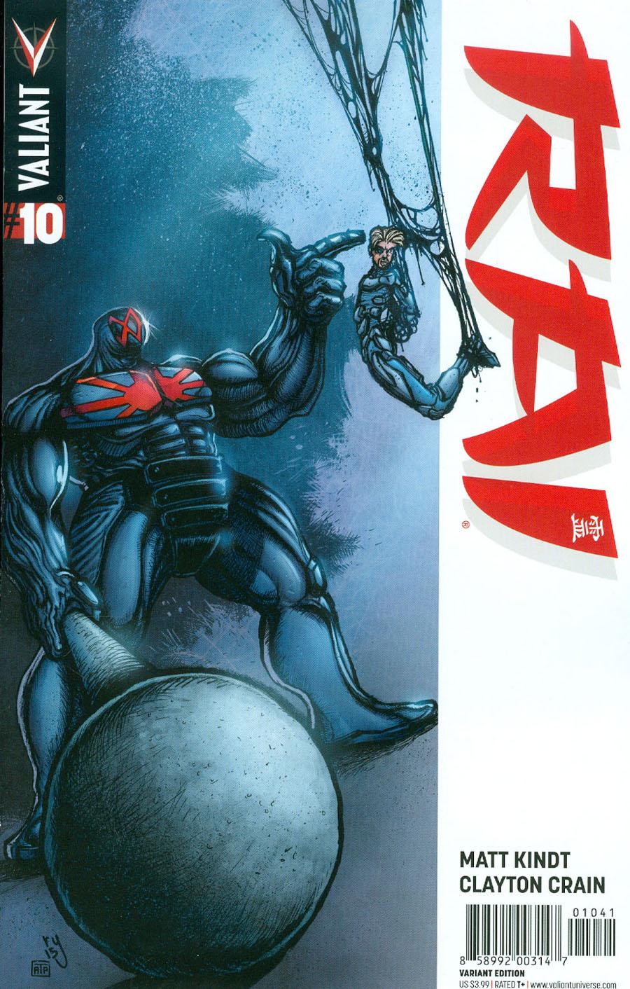 Rai Vol 2 #10 Cover D Incentive Ryan Lee Variant Cover