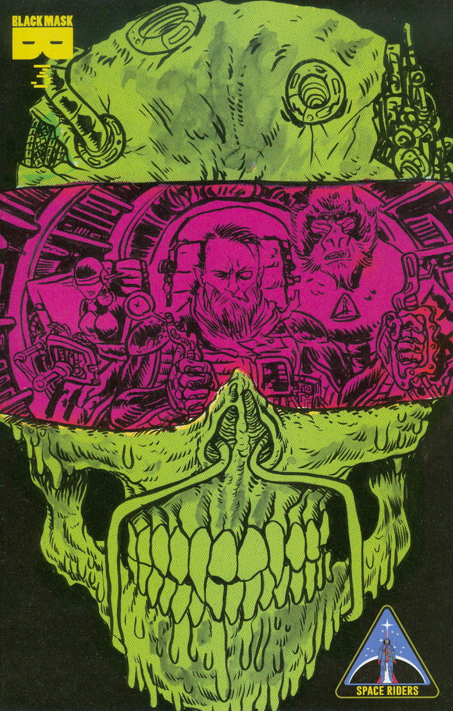 Space Riders #3 Cover B 2nd Ptg Alexis Ziritt Variant Cover