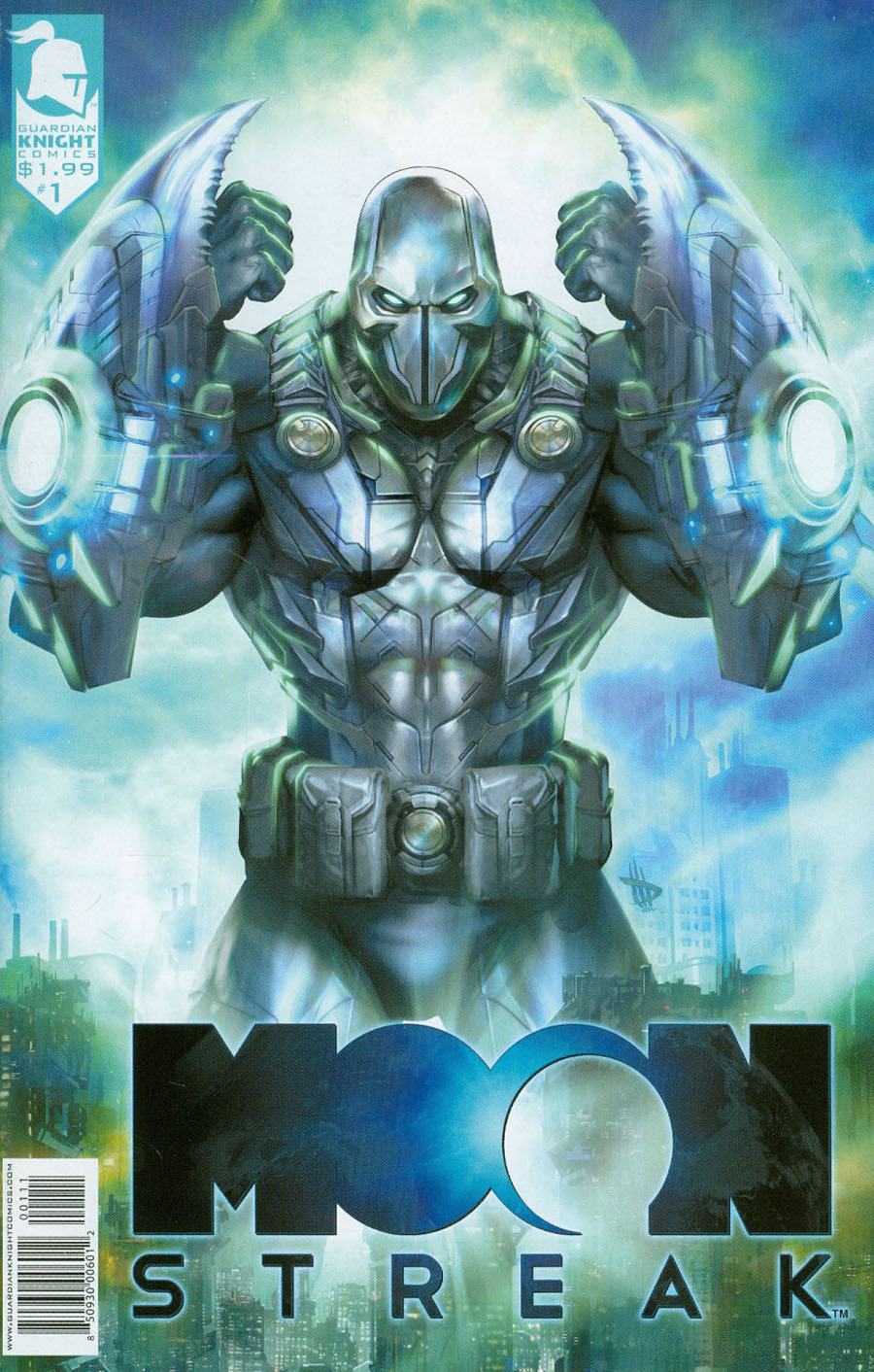 Moonstreak #1 Cover A Dave Wilkins